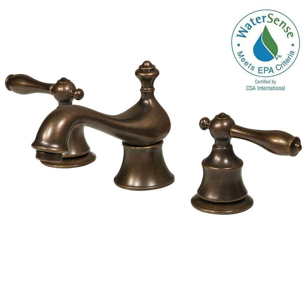 Estates 8 Inch Widespread in Heritage Bronze