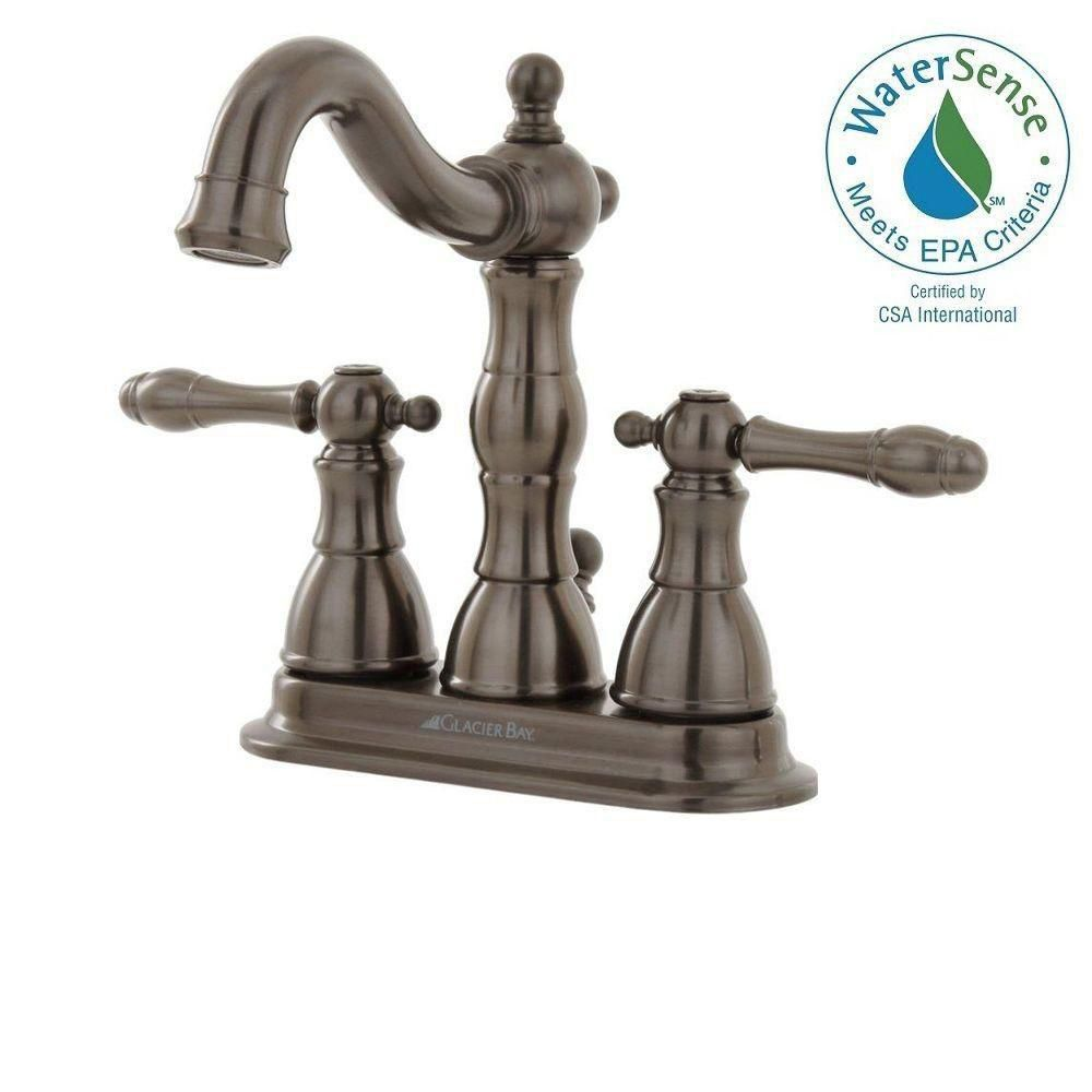 Lyndhurst 4 Inch Bath Faucet in Oil Rubbed Bronze