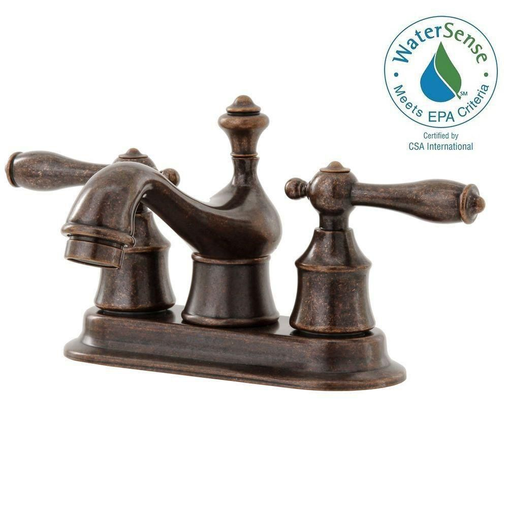 Weymouth 2 Handle Wall Mount Bathroom Faucet Trim Kit (Trim Only ...