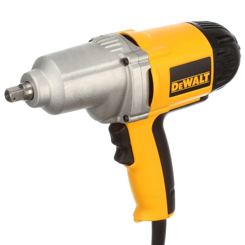 DEWALT 1/2-inch Impact Wrench with Detent Pin Anvil