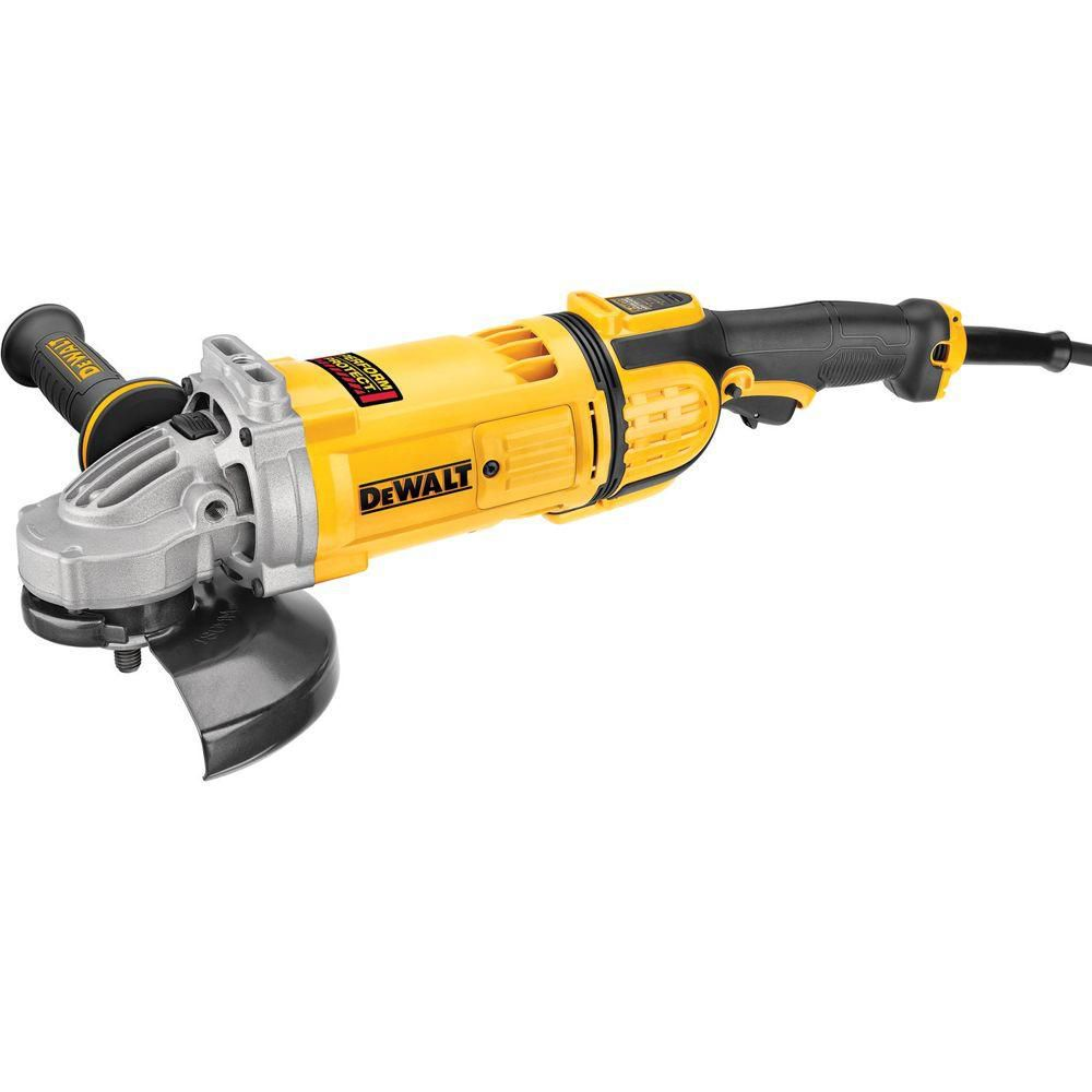 7- Inch Angle Grinder with Guard