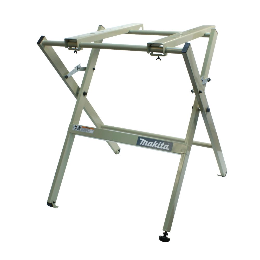 Makita benchtop tool folding stand the home depot canada for Stand pliant