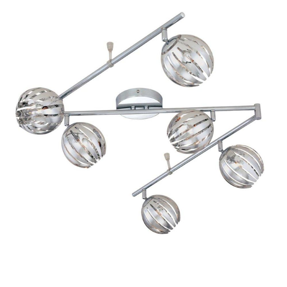 Cosmo Collection 6 Light Chrome Track