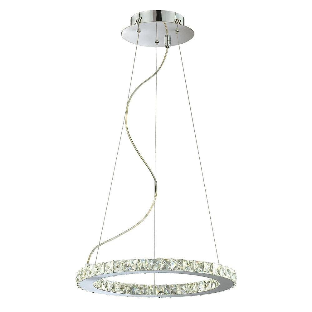 Cronos Collection Small Round LED Pendant