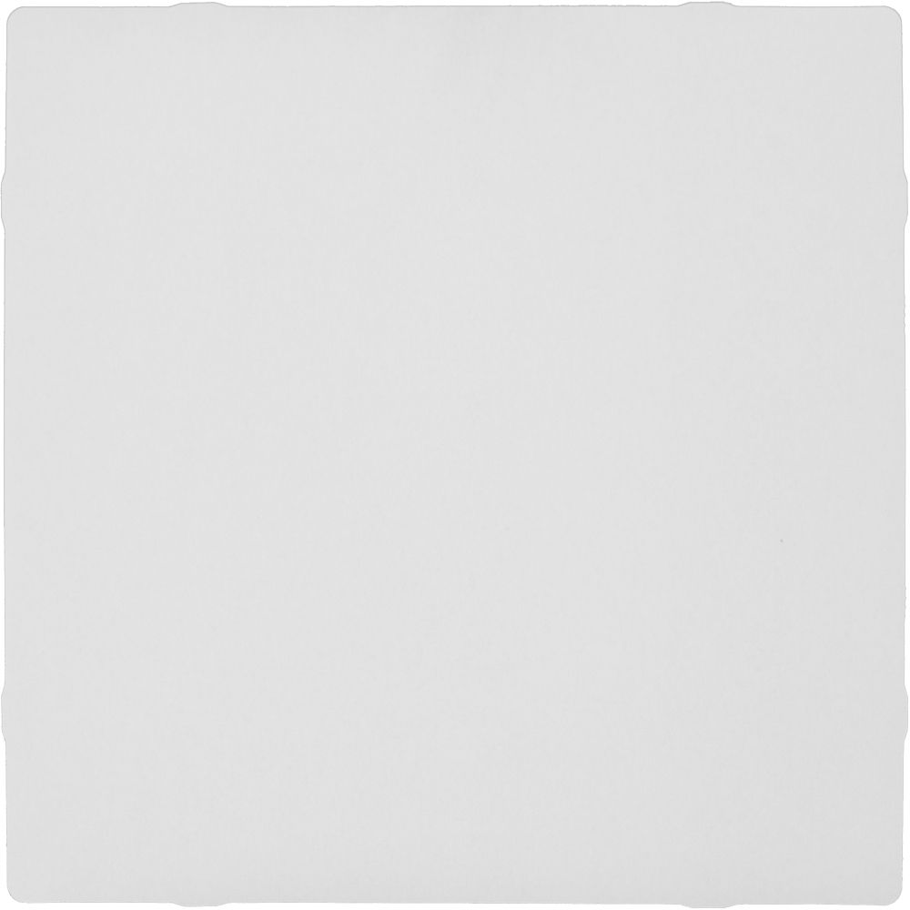 Foldscapes Square Drop Ceiling Tile White - 24 Tile Pack (2 x 2 foot lay in tile)