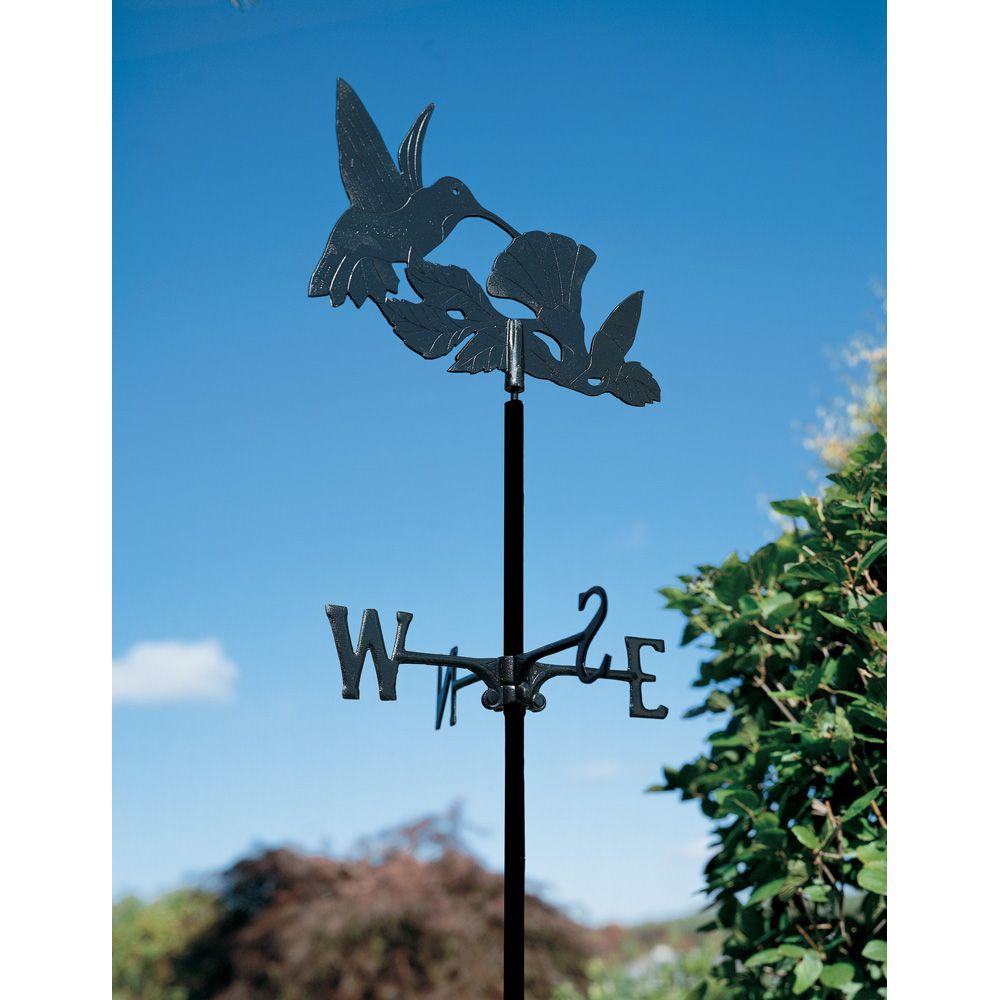 L'oiseau-mouche - la Girouette de Jardin - Noir