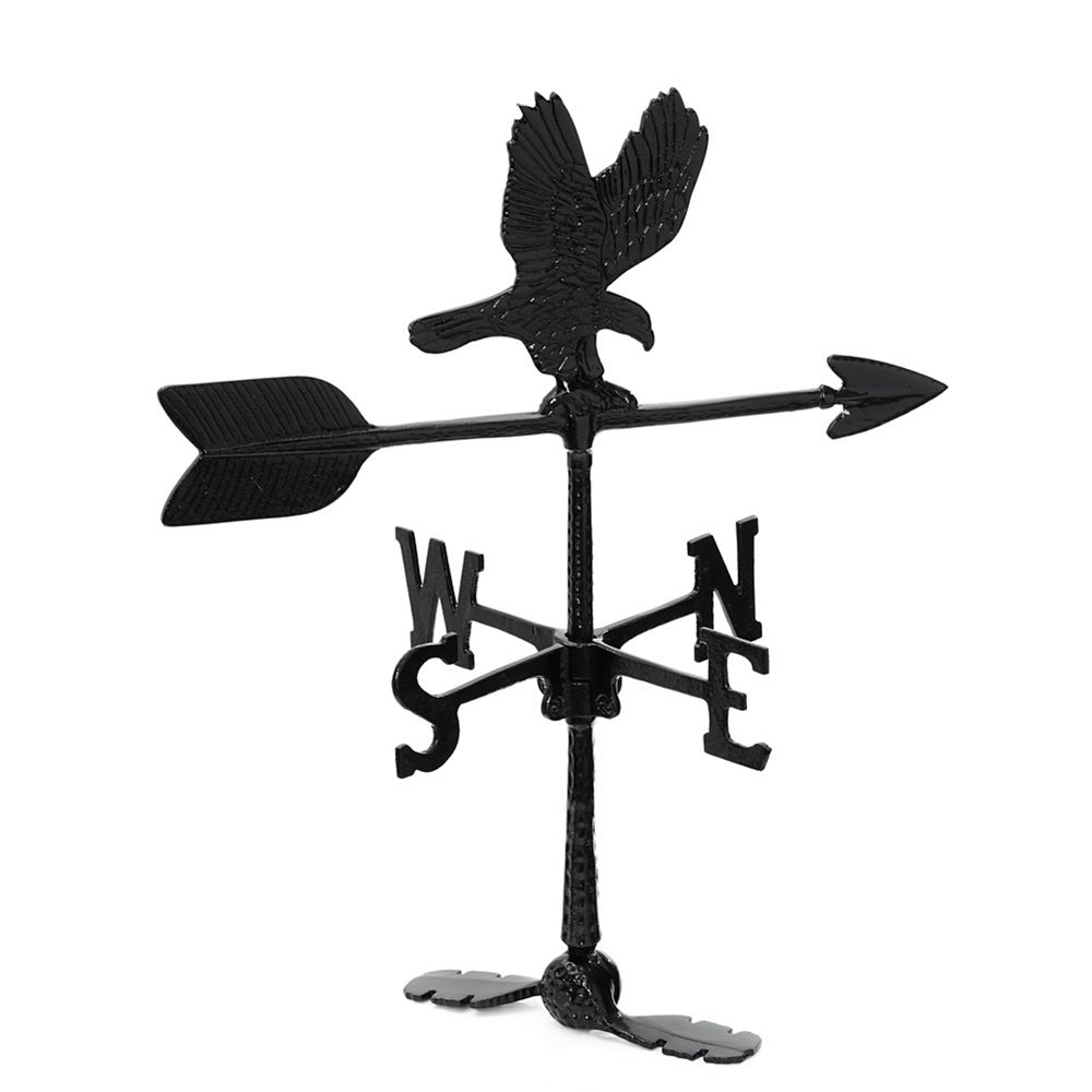 Klassen Eagle Weathervane - Black 24 Inch