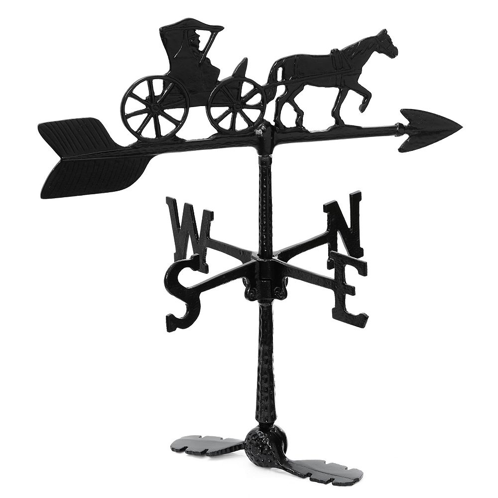 Klassen Country Doctor Weathervane - Black 24 Inch
