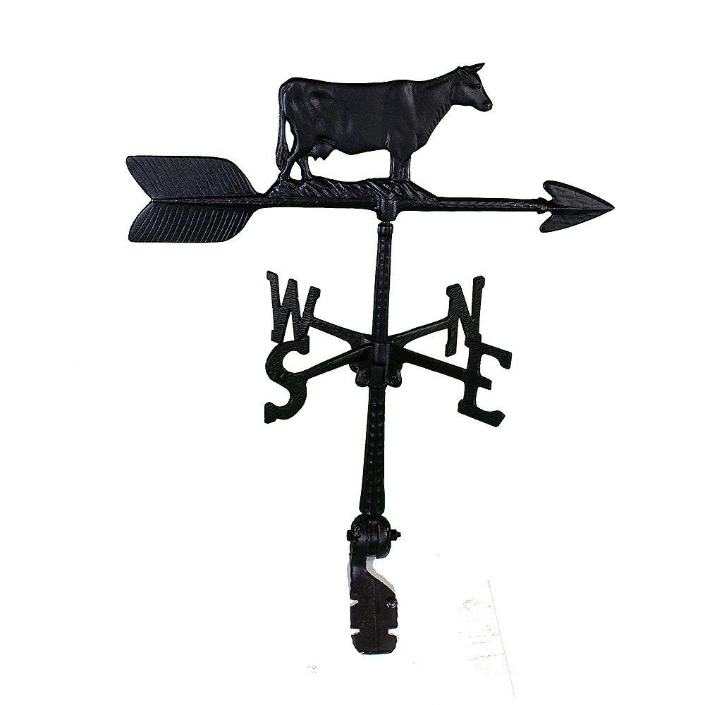 Klassen Cow Weathervane - Black 24 Inch