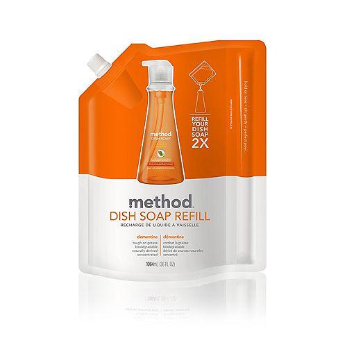 Method Dish Soap Refill Clementine 1064 ml