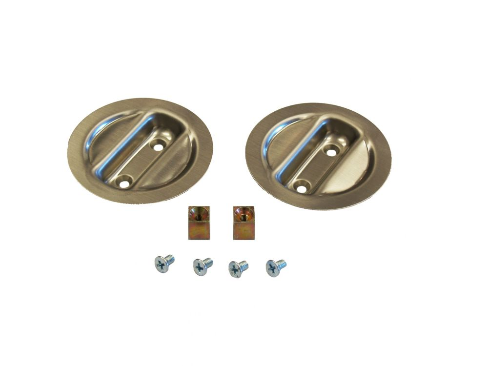 Satin Nickel Pocket Door Pull