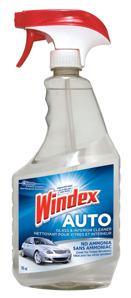 Windex Auto Glass Interior Cleaner The Home Depot Canada