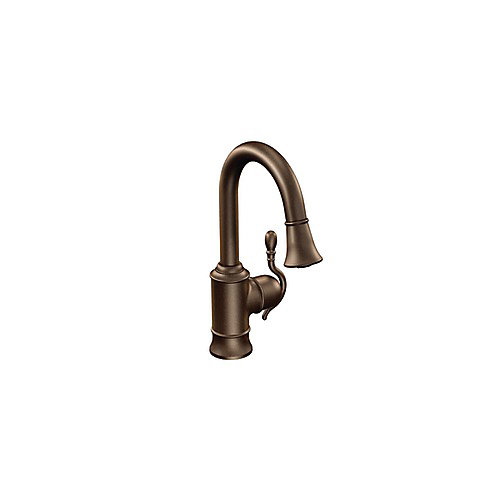 Woodmere Single Handle Bar Faucet Featuring Reflex in Oil Rubbed Bronze
