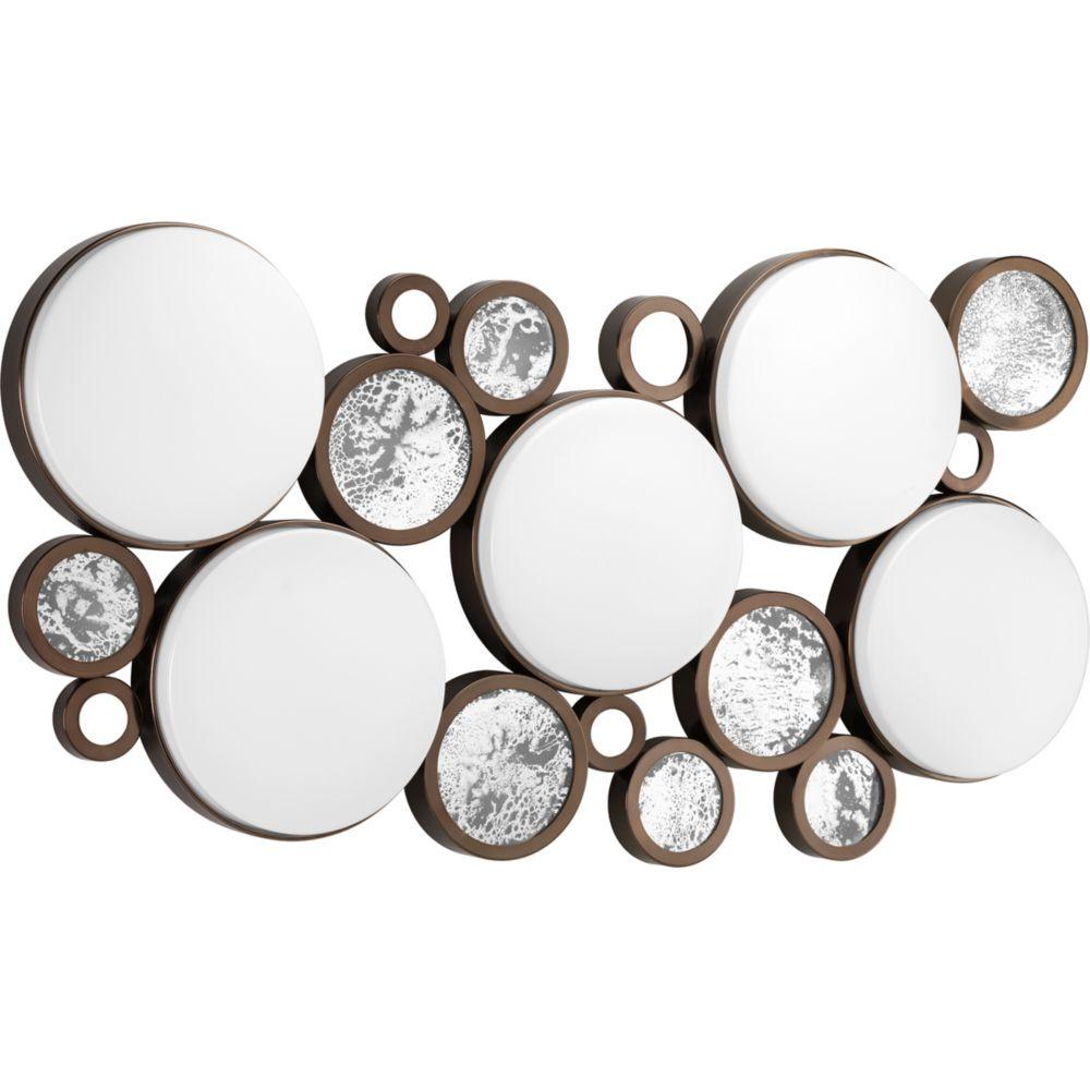 Fluorescente de Plafonnier à 5 Lumières, Collection Bingo - fini Bronze Venitiem