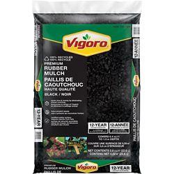 Vigoro Black Rubber Mulch
