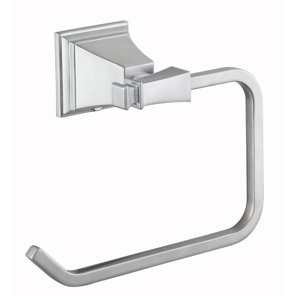 Exhibit Towel Ring in Brushed Nickel 714A-0504 Canada Discount