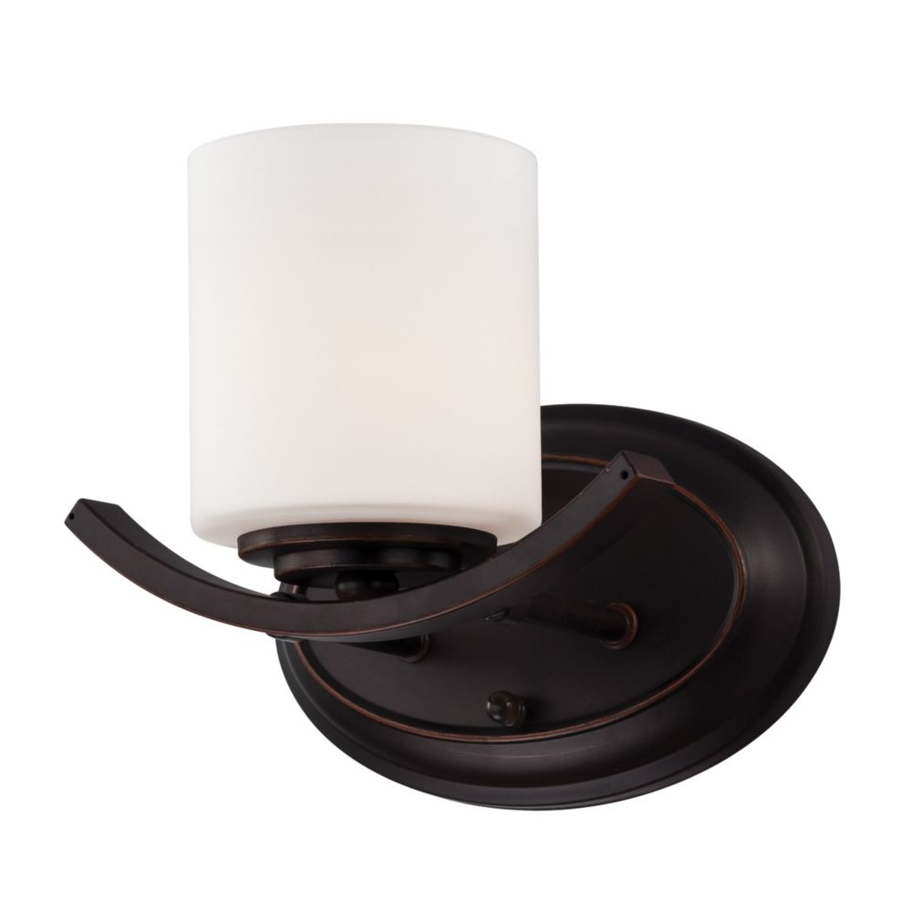 Beam Collection 1 Light Oil Rubbed Bronze Wall Sconce