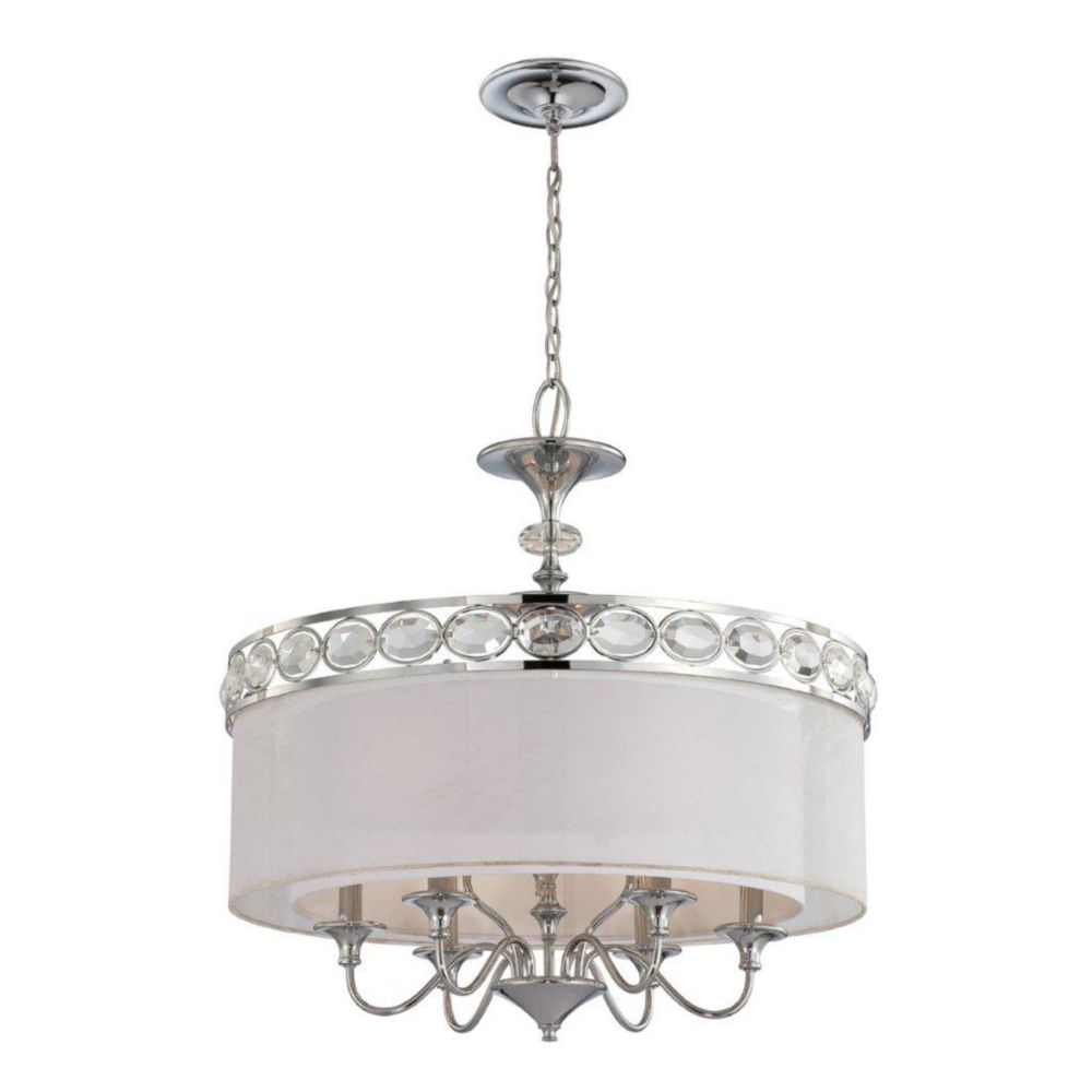Bijoux Collection 9 Light Chrome Pendant