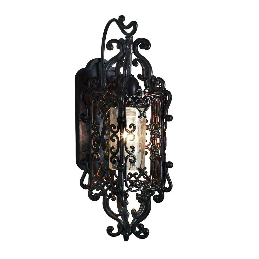 Bravada Collection 1 Light Medium Outdoor Sconce