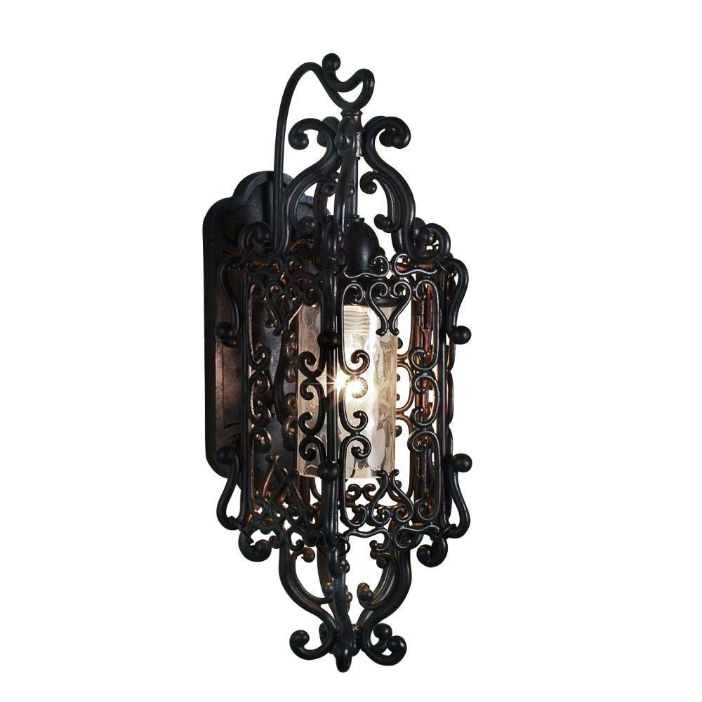 Bravada Collection 1 Light Small Outdoor Sconce