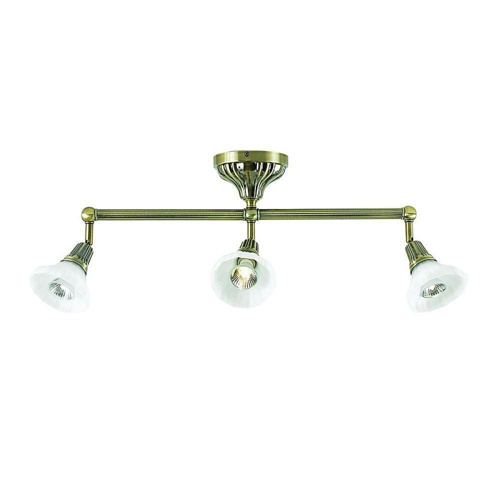 Brunswick Collection 3 Light Antique Bronze Track