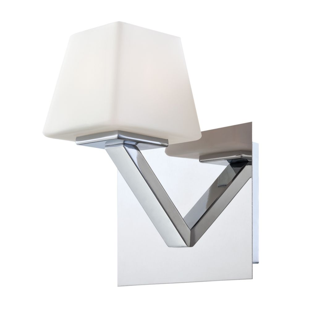 Anglo Collection 1 Light Chrome Wall Sconce