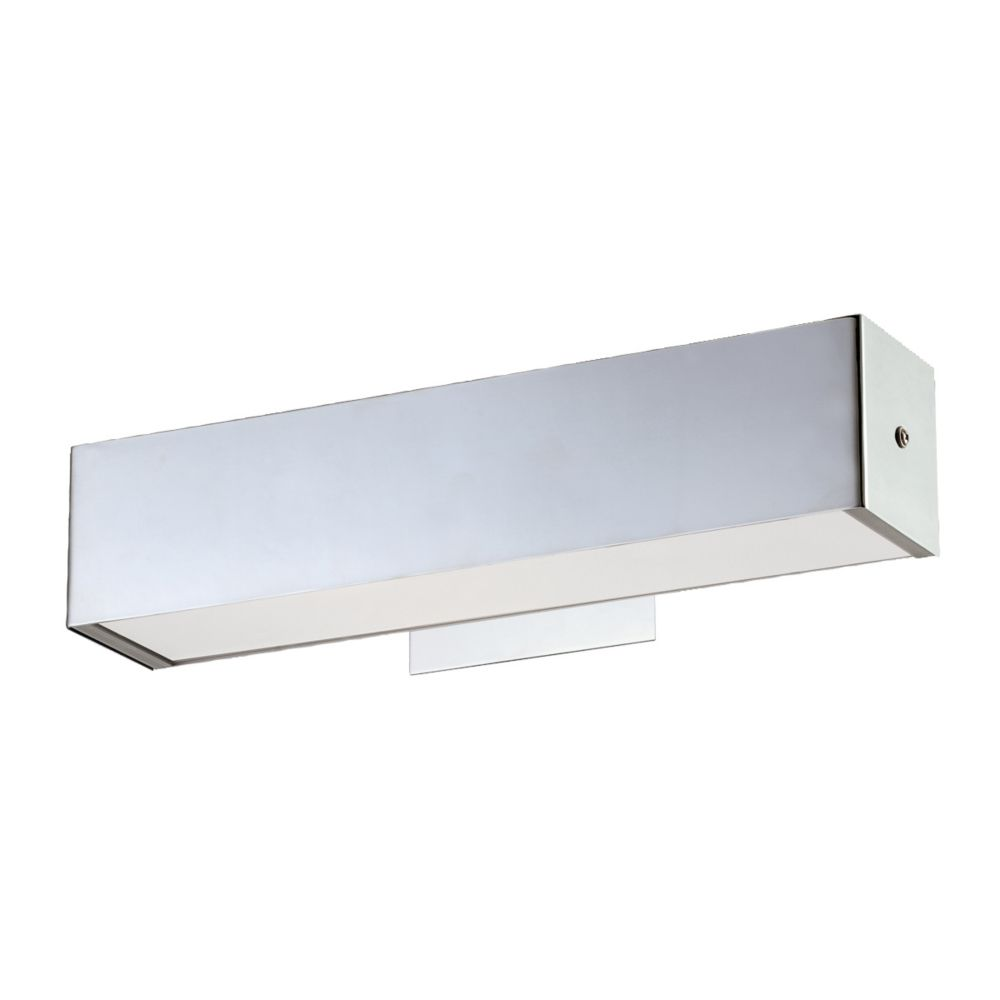 Anello Collection 1 Light 15 Inch Chrome Wall Sconce