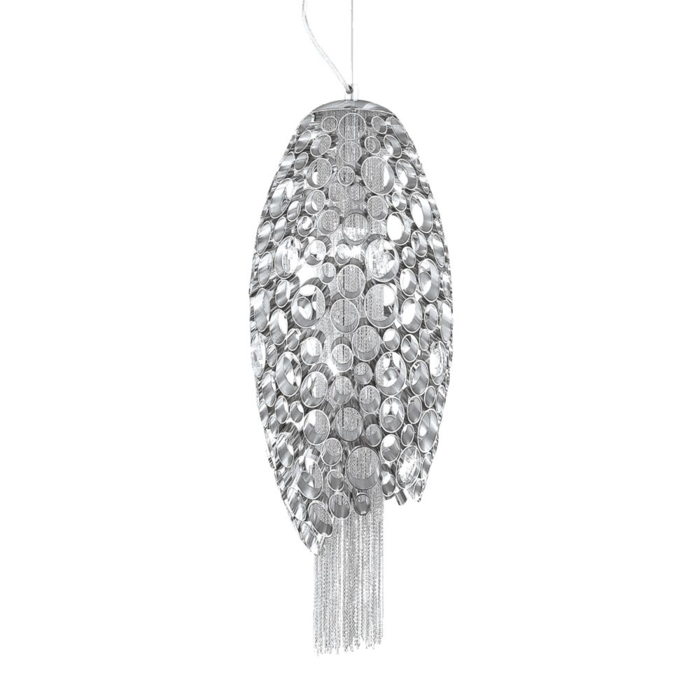 Cameo Collection 2 Light Nickel Pendant