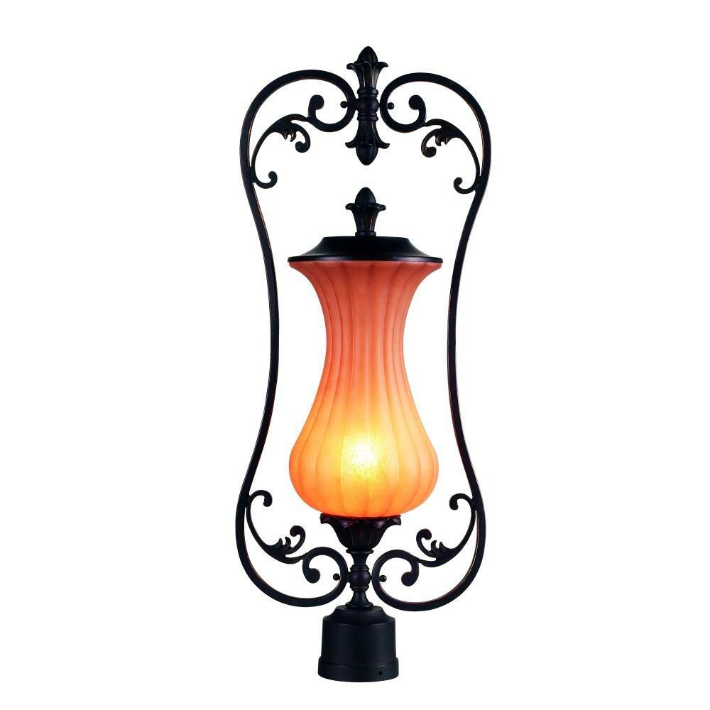 Corsica Collection 1 Light Outdoor Post Mount