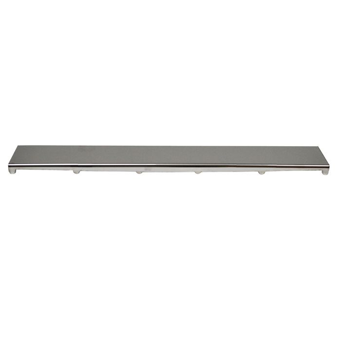 KACHE Hidden Drain Cover in Polished Stainless Steel