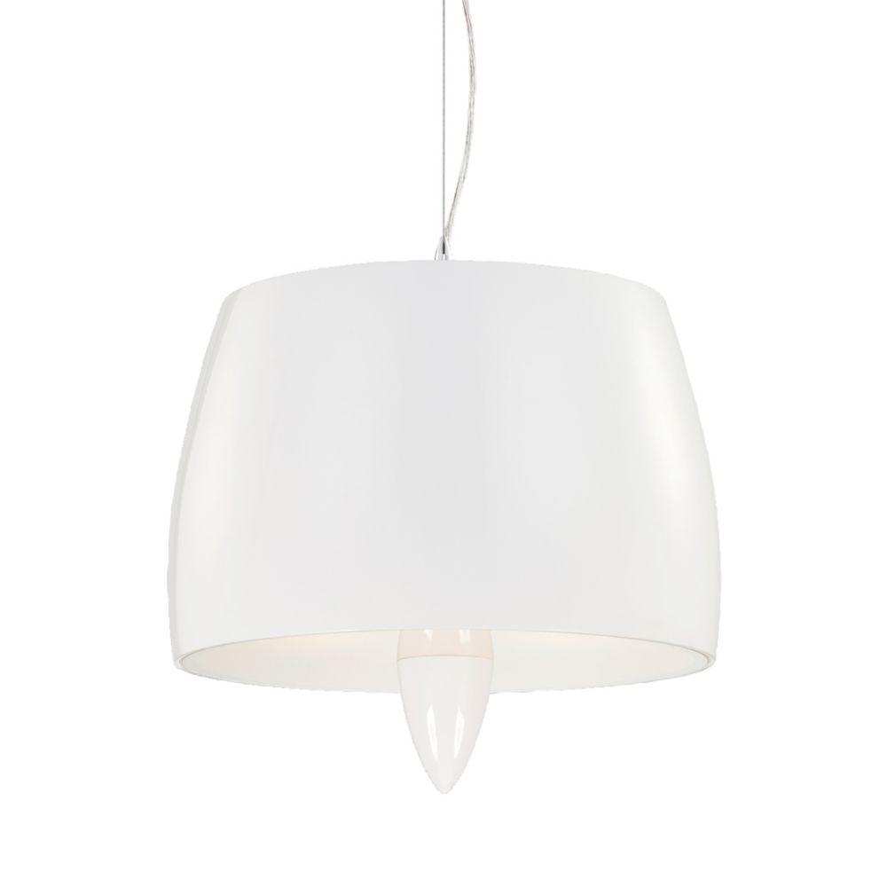 Lola Collection 3 Light White Pendant
