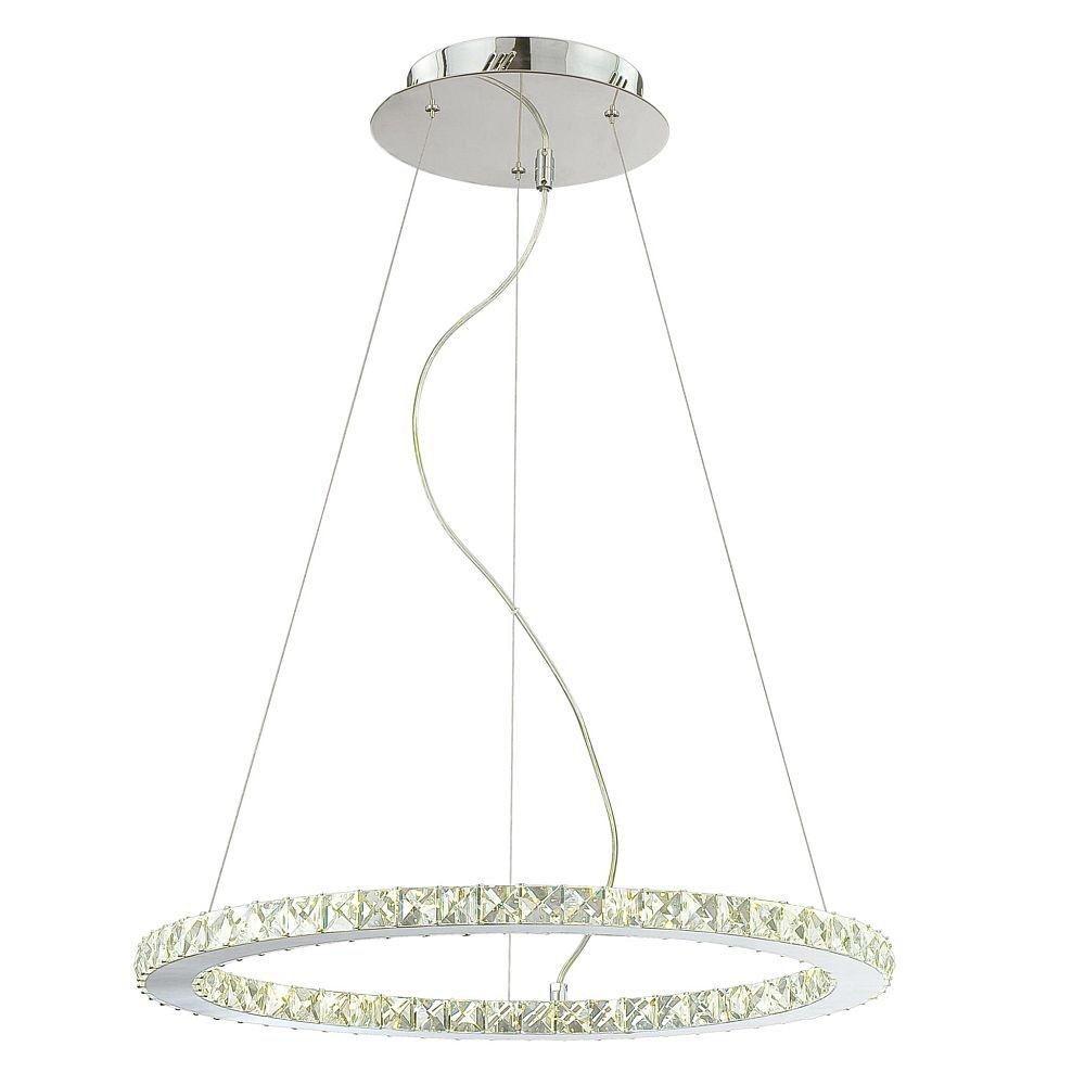 Cronos Collection Large Round LED Pendant