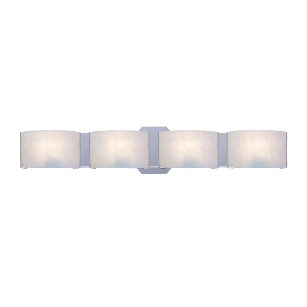 Dakota Collection 4 Light Chrome Bathbar