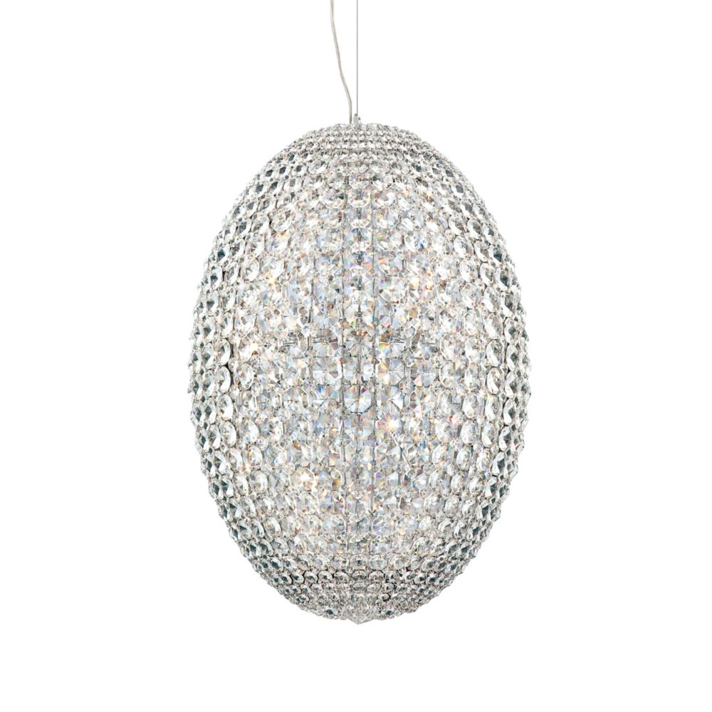 Encore Collection 18 Light Chrome Pendant