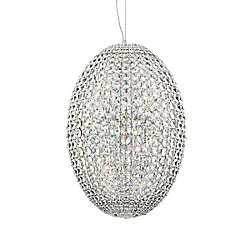 Eurofase Encore Collection 18 Light Chrome Pendant