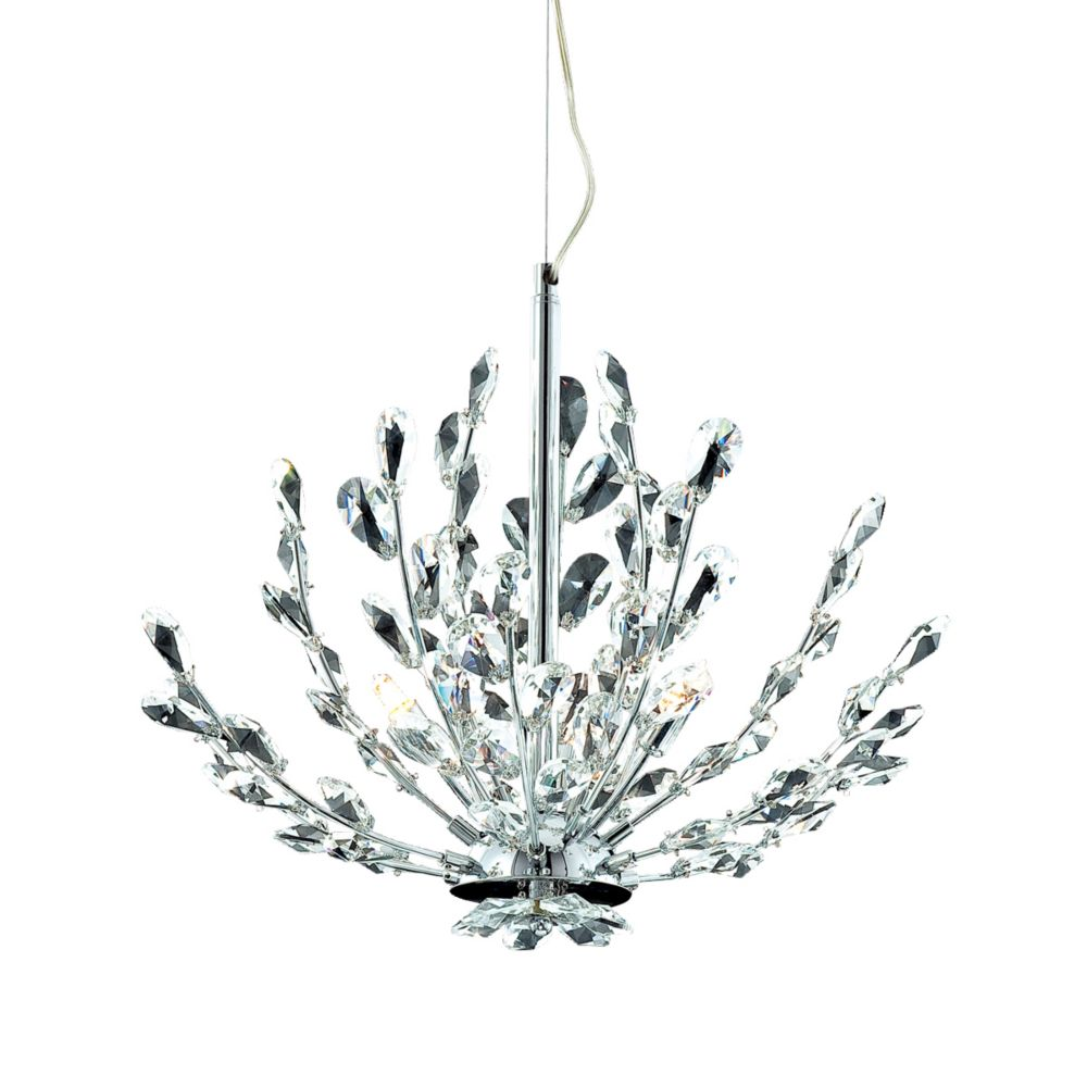Filigree Collection 3 Light Chrome Pendant