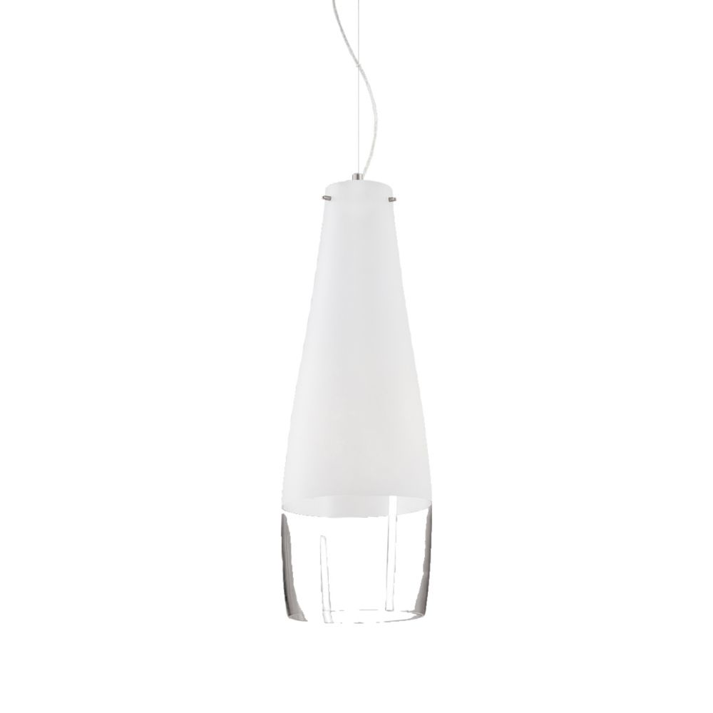 Frossia Collection 1 Light Medium Chrome Pendant