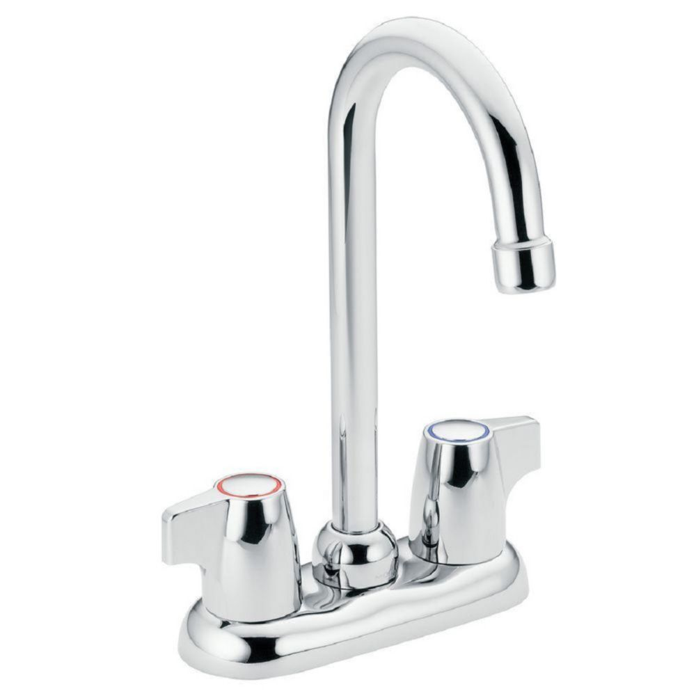 Chateau 2-Handle Bar Faucet in Chrome