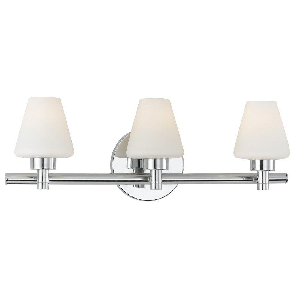 Mezzo Collection 3 Light Bathbar
