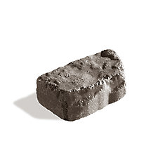 Mini Beltis 9-inch x 5-inch x 3-ingh Gray/Charcoal Wall Block