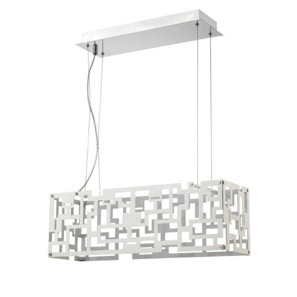 Metrix Collection 16 Light Chrome LED Pendant 22787-019 in Canada