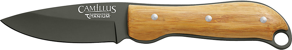 8-inch Carbonitride Titanium Fixed Blade Knife
