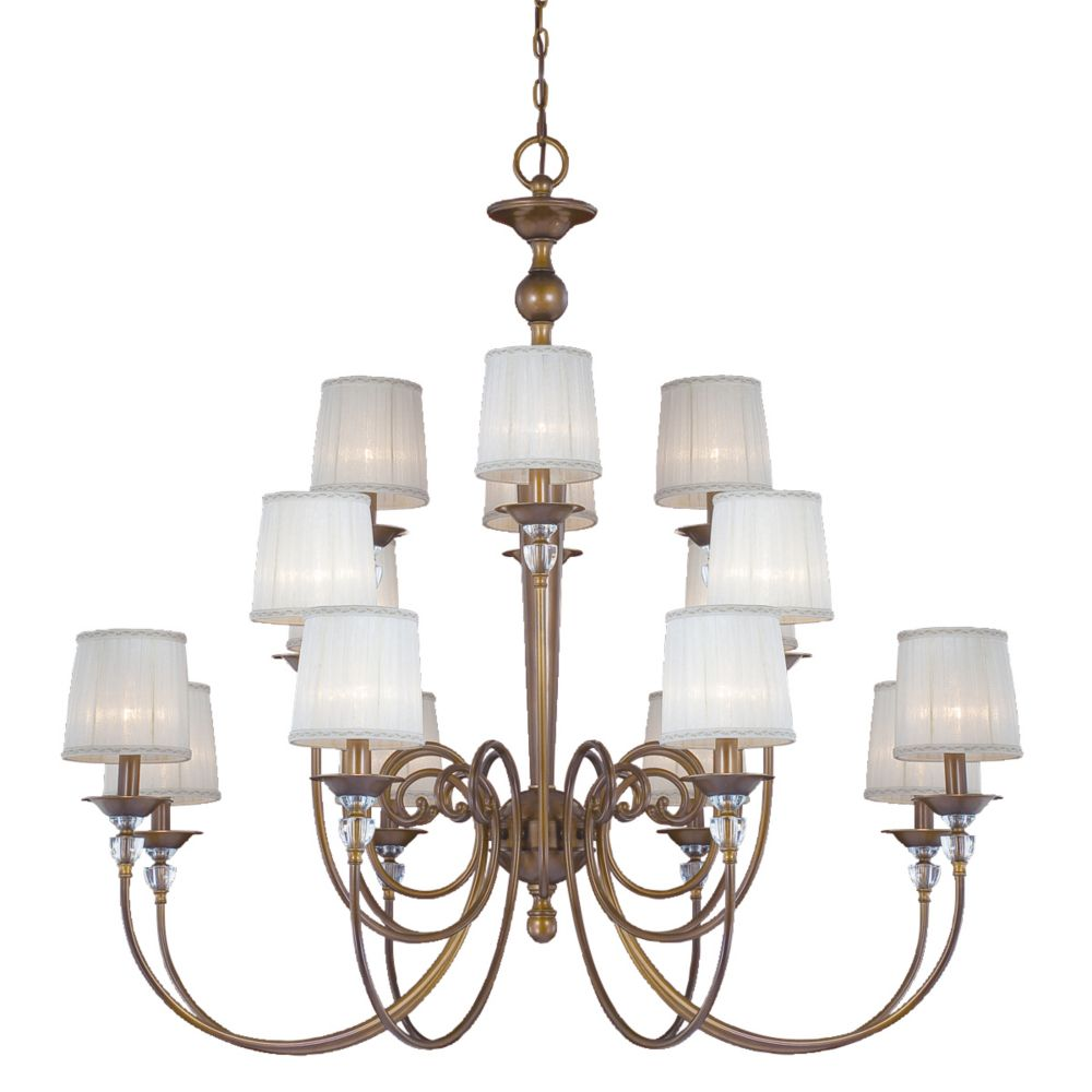 Locksley Collection 16 Light Chandelier