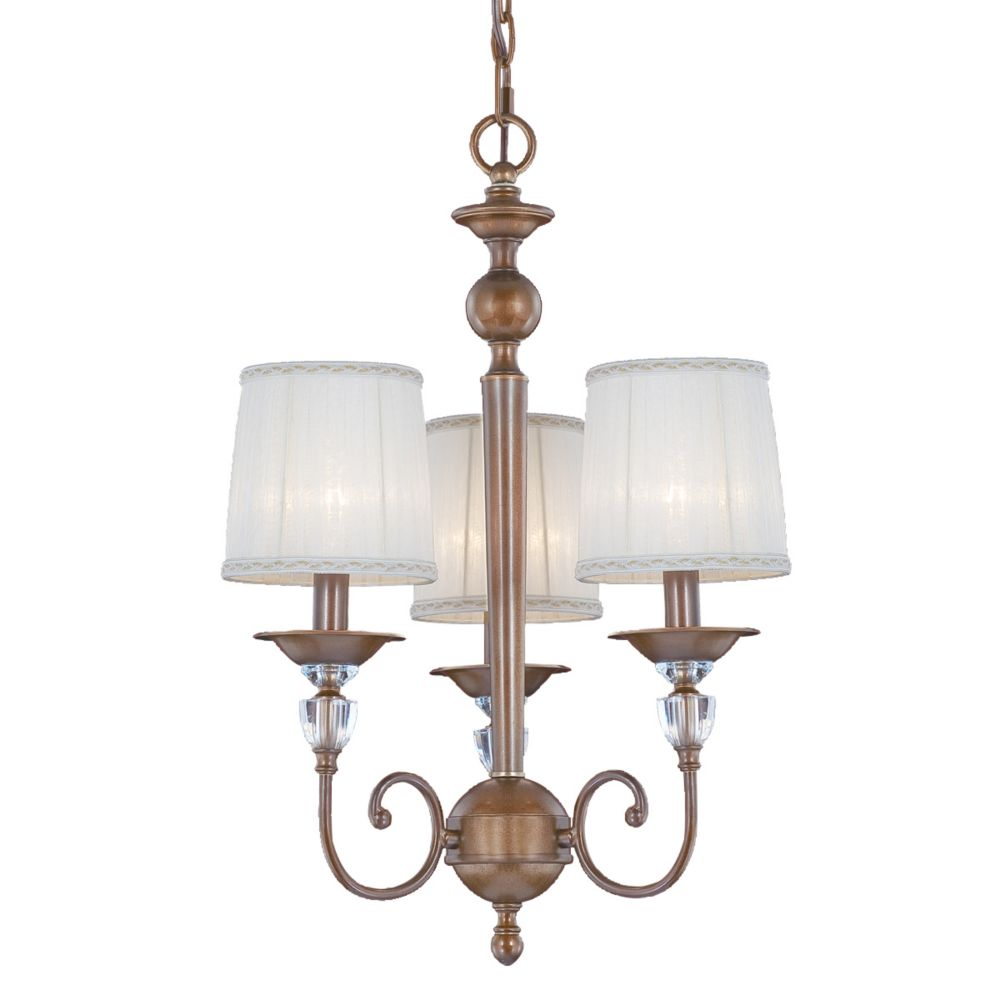 Locksley Collection 3 Light Chandelier