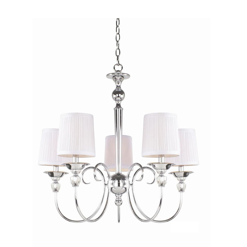 Eurofase Locksley Collection 5 Light Chandelier The Home Depot Canada