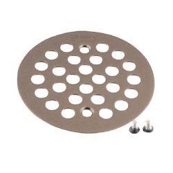 MOEN Couvercle de baignoire / douche de 4-1/4 po pour ouverture de 2-5/8 po en bronze huilé frotté