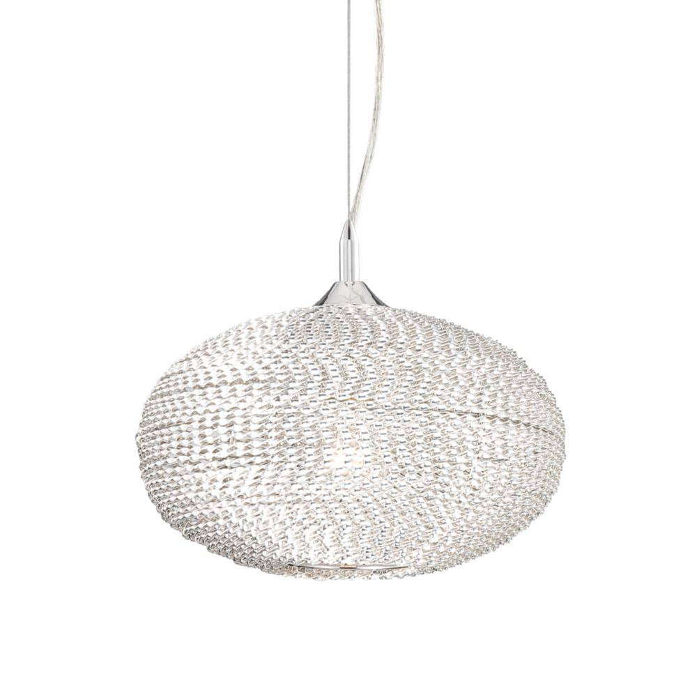 Otra Collection 1 Light Silver Pendant