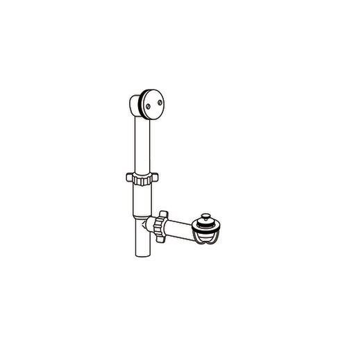 Couvre-drain de baignoire/douche au fini Chrome