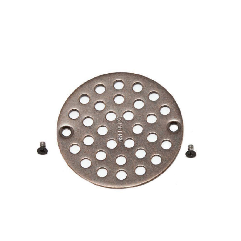 4 Inch Shower Strainer in Oil Rubbed Bronze