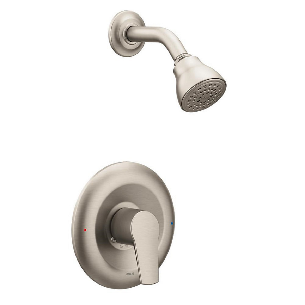 Method Single-Handle Posi-Temp Bath/Shower with Showerhead in Brushed Nickel (Valve Sold Separately)